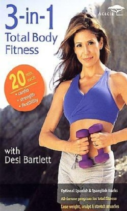3-in-1 Total Body Fitness with Desi (DVD)