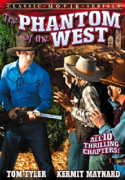 Phantom Of The West - Serial (Chapters 1-10) (DVD)