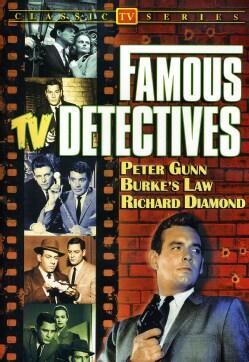 Famous TV Detectives (Peter Gunn/Burke's Law/Richard Diamond) (DVD)