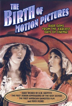The Birth of Motion Pictures: House with Closed Shutters/An Unseen Enemy/Musketeers of Pig Alley/Love, Loot and Crash (DVD)