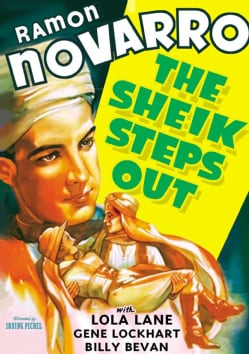 The Sheik Steps Out (DVD)