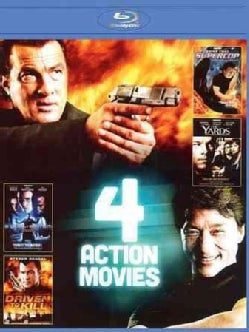 4 Film Action Pack: Vol. 4 (Blu-ray Disc)