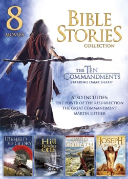 8-Movie Bible Stories Collection (DVD)