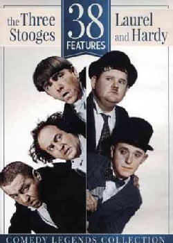 38 Features: The Three Stooges & Laurel and Hardy (DVD)