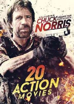 20-Film Action Featuring Chuck Norris (DVD)