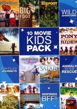 Kid's 10 Film Pack (DVD)
