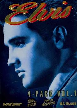 Elvis Four-Movie Collection Vol. 1 (DVD)