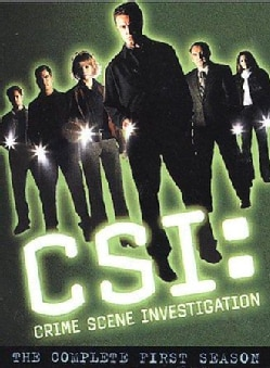 CSI: Crime Scene Investigation:  Complete First Season (DVD)