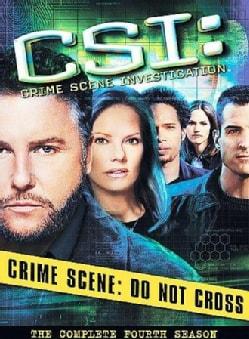 CSI: Crime Scene Investigation:  Complete Fourth Season (DVD)
