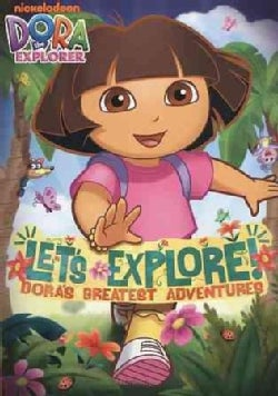 Dora The Explorer: Let's Explore! Dora's Greatest Adventures (DVD)