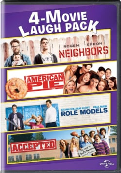 Neighbors/American Pie/Role Models/Accepted 4-Movie Laugh Pack
