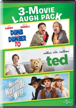 Dumb And Dumber To/Ted/A William Ways To Die In The West 3-Movie Laugh Pack
