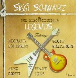 Siggi Schwarz - Siggi Schwarz & the Electric Guitar Legends: Vol. 1