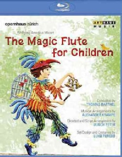 Mozart: The Magic Flute for Children (Blu-ray Disc)