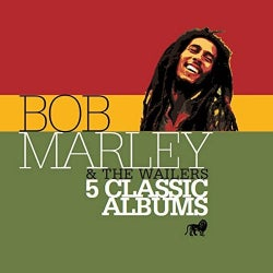 BOB & WAILERS MARLEY - 5 CLASSIC ALBUMS
