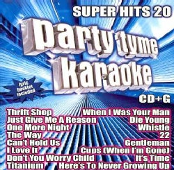 Various - Party Tyme Karaoke: Super Hits 20