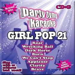 Various - Party Tyme Karaoke: Girl Pop 21