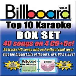 Sybersound - Billboard Top 10 Karaoke Box Set Vol 3