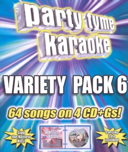 Various - Party Tyme Karaoke: Variety Pack 6