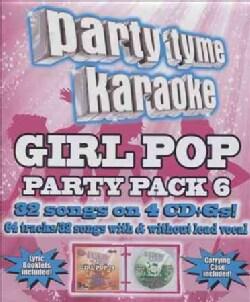 Party Tyme Karaoke - Party Tyme Karaoke: Girl Pop Party Pack 6