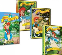 Anne of Green Gables: The Animated Series Vols 1-3 (DVD)