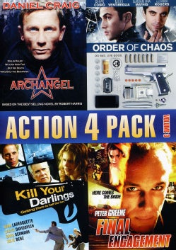Action 4 Pack: Vol. 3 (DVD)