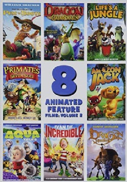 8 Feature Compilation: Kids Animated: Vol. 2 (DVD)