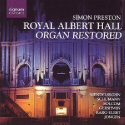 Various - Royal Albert Hall - Organ Restored