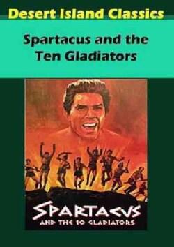 Spartacus And The Ten Gladiators (DVD)