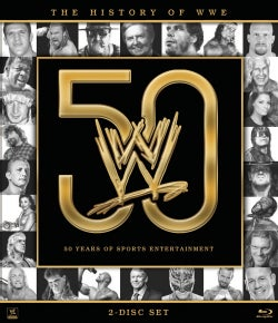 History Of The WWE (Blu-ray Disc)
