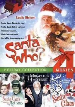 Santa Who?/Santa Claus Conquers/Santa Claus/Miracle on 34th St. (DVD)