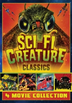 Sci-Fi Creature Classics: 4 Movie Set (DVD)