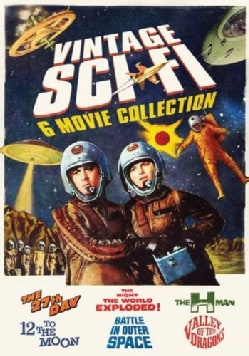 Vintage Sci-Fi Movies: 6 Movie Pack (DVD)