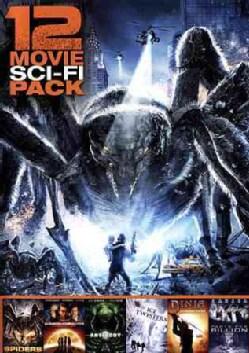 12 Movie Sci-Fi Pack (DVD)