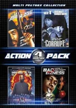 4 Film Action Pack (DVD)