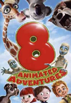 8 Film Animated Adventures Pack (DVD)