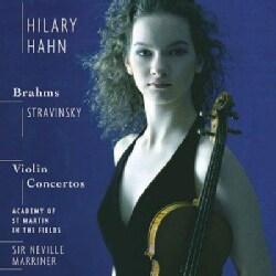 Hilary Hahn - Brahms & Stravinsky Violin Concertos