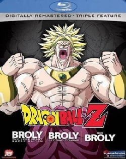 Dragon Ball Z: Broly Triple Feature (Movies 8, 10 & 11) (Blu-ray Disc)