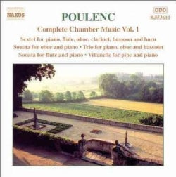 Alexandre Tharaud - Poulenc:Complete Chamber Music Vol. 01