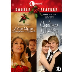 Double Feature: A Very Merry Daughter of the Bride & A Christmas Wedding (DVD)