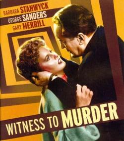 Witness to Murder (Blu-ray Disc)