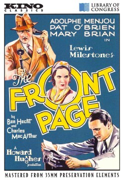 The Front Page (DVD)