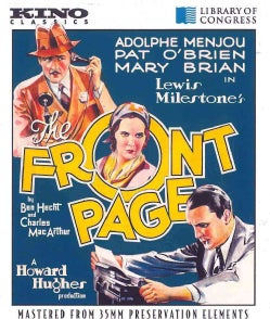 The Front Page (Blu-ray Disc)