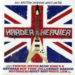 Various - Harder & Heavier: 60's British Invasion Goes Metal