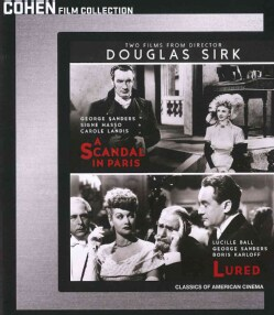 Two Films by Douglas Sirk (Blu-ray Disc)