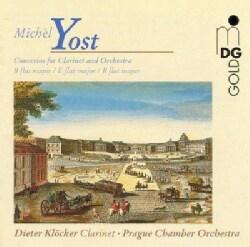Dieter Klocker - Yost: Clarinet Concertos Nos. 11, 8, 9