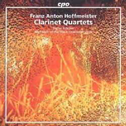Dieter Klocker - Hoffmeister:Clarinet Quartets
