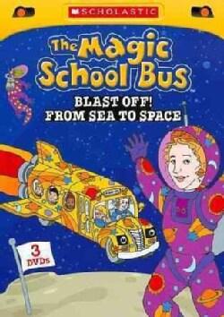 The Magic School Bus: Blast Off! Space to Sea (DVD)