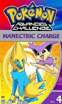 Pokemon Advanced Challenge Vol 4: Manectric Charge (DVD)