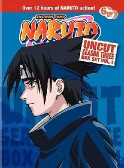 Naruto Uncut Season 3 Box Set Vol 1 (DVD)
